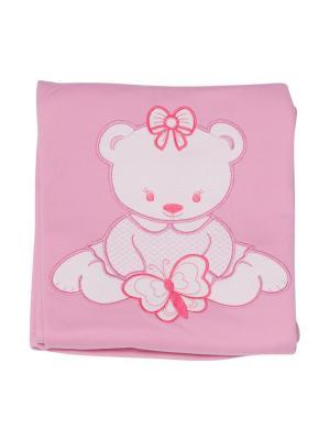 Плед LITTLE WORLD OF ALENA. Цвет: розовый