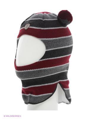 Шапка Totti. Цвет: темно-серый, серый, бордовый