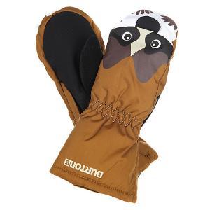 Варежки детские  Grommitt Raccoon Burton. Цвет: черный,коричневый