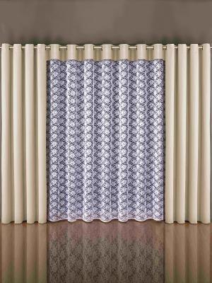 Комплект штор Wisan. Цвет: кремовый, белый