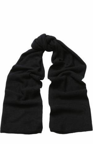 Кашемировый шарф Tegin. Цвет: черный