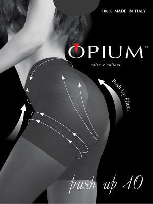 Колготки OPIUM. Цвет: серый