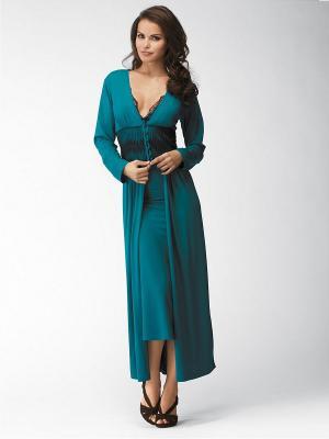Платье Marc&Andre. Цвет: морская волна