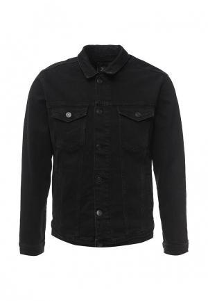 Куртка джинсовая LC Waikiki. Цвет: черный
