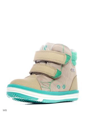 Ботинки Reima. Цвет: оливковый