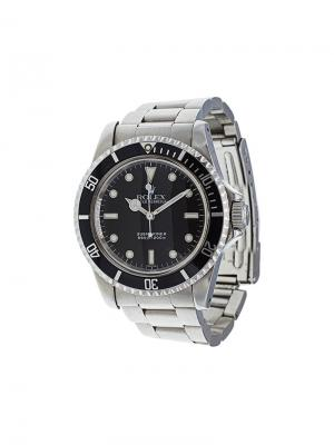 Аналоговые часы Submariner Rolex. Цвет: металлический