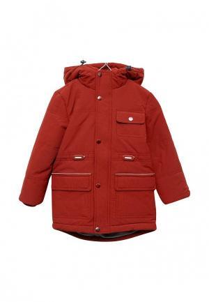 Куртка утепленная Sela. Цвет: красный
