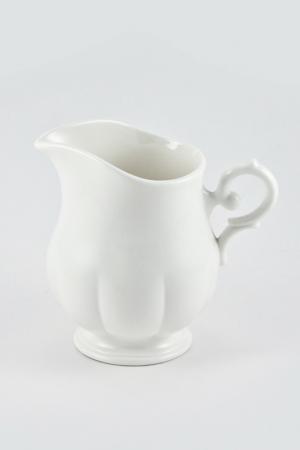 Сливочник 250 мл White Royal Bone China. Цвет: белый