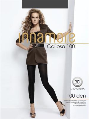 Леггинсы Calipso 100 grigio scuro Innamore. Цвет: серый