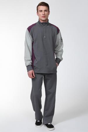 Спортивный костюм Relax Mode. Цвет: серый