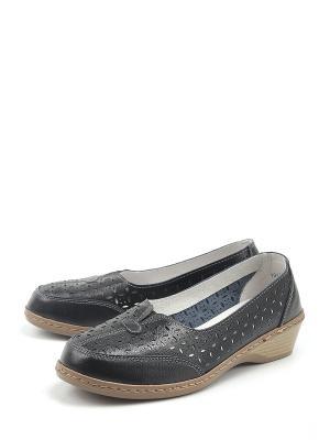 Туфли Estiva. Цвет: черный