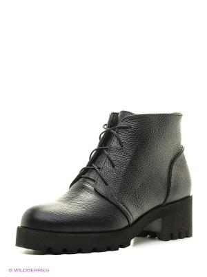 Ботинки ESTELLA. Цвет: темно-зеленый, черный