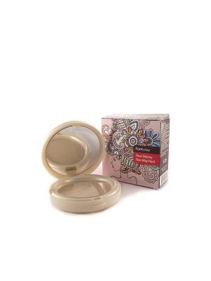 Компактная крем-пудра для лица тон №23 Натуральный Беж, со сменным блоком, 13 гр. + гр Farm Stay. Цвет: бежевый