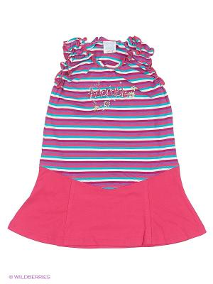 Сарафан Cutie Bear. Цвет: фиолетовый, розовый