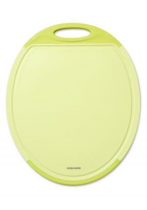Доска разделочная круглая MENSA DOSH | HOME. Цвет: зеленый (салатовый)