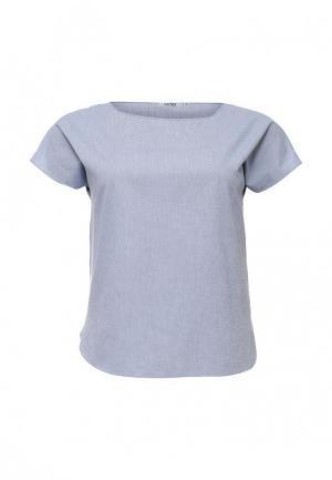 Блуза UNQ. Цвет: голубой