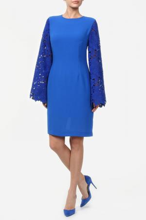 Платье Сильвана NATALIA PICARIELLO. Цвет: синий