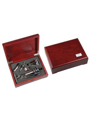 Подарочный набор сомелье VIRON. Цвет: черный, коричневый