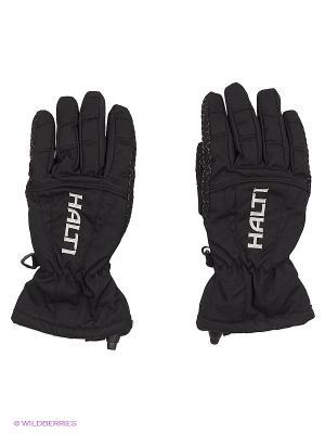 Перчатки HALTI. Цвет: черный