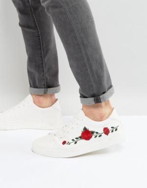 Good For Nothing Белые кроссовки с вышивкой. Цвет: белый