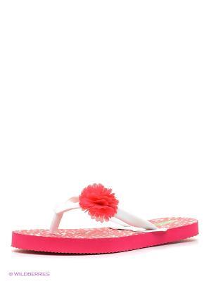 Пантолеты United Colors of Benetton. Цвет: розовый, кремовый, бледно-розовый