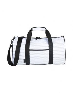 Дорожная сумка REEBOK. Цвет: белый