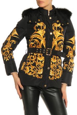 Куртка Angelo Marani. Цвет: черный, желтый