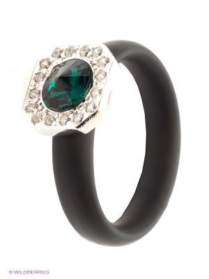 Кольцо NAVELL. Цвет: черный, темно-зеленый