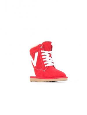 Ботинки Vitacci. Цвет: красный