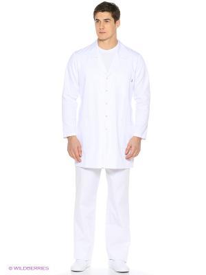 Халат Med Fashion Lab. Цвет: белый