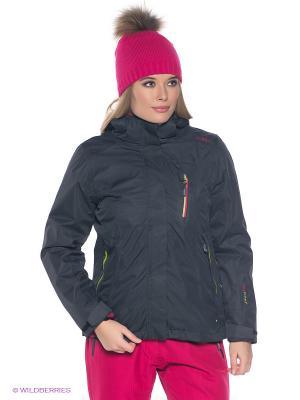 Куртка CMP. Цвет: черный