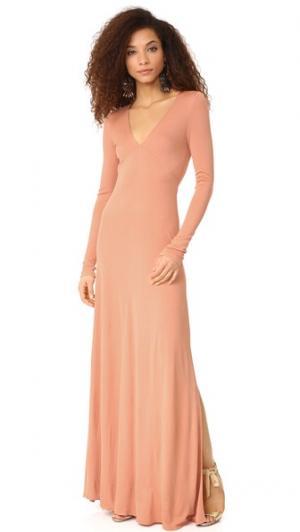 Платье Rosanne Jill Stuart. Цвет: дыня