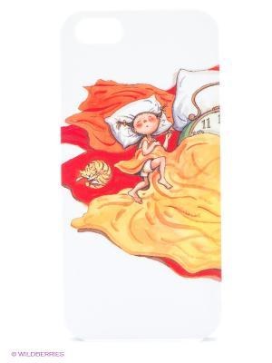 Чехол для IPhone 5 Сладкие сны Mitya Veselkov. Цвет: желтый, фиолетовый