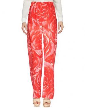 Повседневные брюки CAPRI. Цвет: красный