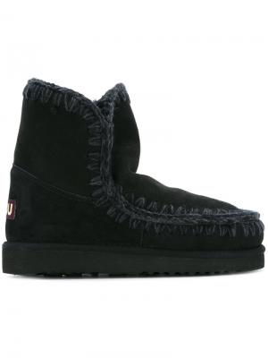 Ботинки Esmiko Mou. Цвет: чёрный