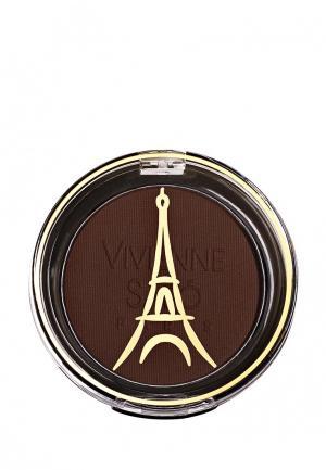 Тени для век Vivienne Sabo. Цвет: коричневый