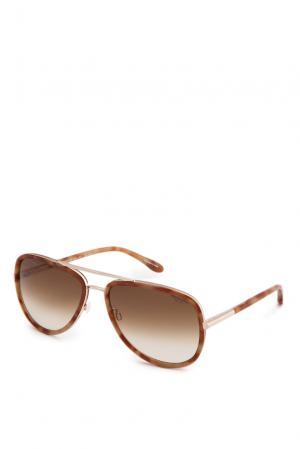 Очки 127343 Trussardi Dal1911 Eyewear. Цвет: бежевый