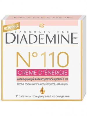 Крем №110 CREME D ENERGIE Активирующий антивозрастной Diademine. Цвет: белый,розовый