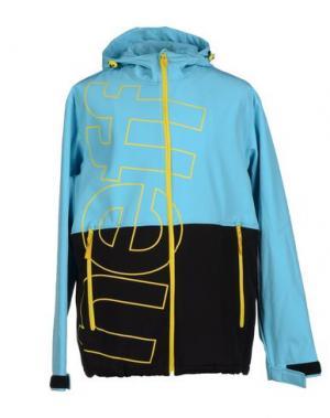 Куртка NEFF. Цвет: лазурный