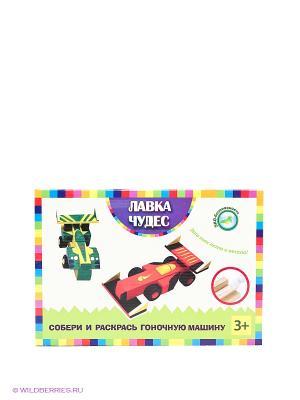 Игра для творчества Гоночная машина Лавка Чудес. Цвет: зеленый, молочный, красный