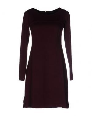 Короткое платье FISICO-CRISTINA FERRARI. Цвет: баклажанный