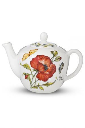 Чайник, 900 мл Nuova cer. Цвет: белый