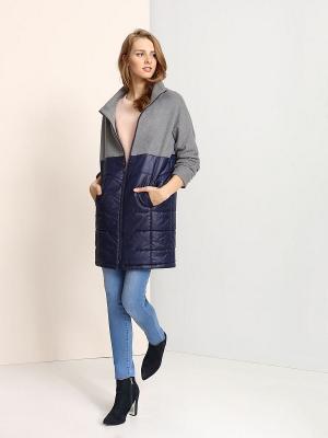 Куртка Troll. Цвет: светло-серый