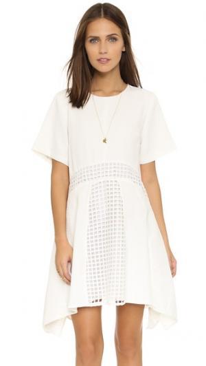 Платье Fantasy Net Talulah. Цвет: белый