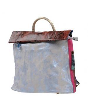 Рюкзаки и сумки на пояс EBARRITO. Цвет: голубиный серый