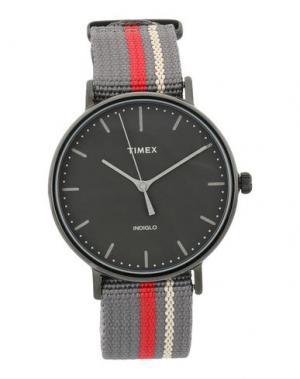 Наручные часы TIMEX. Цвет: серый