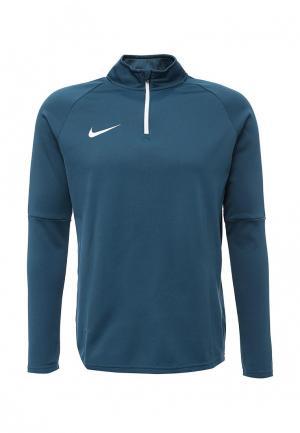 Лонгслив спортивный Nike. Цвет: бирюзовый