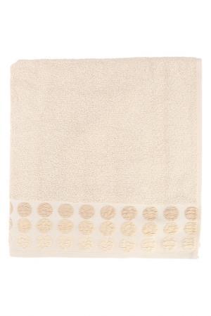 Полотенце махровое, 70х140 см BRIELLE. Цвет: бежевый