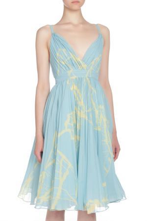 Изящное летнее платье Isabel Garcia. Цвет: голубой