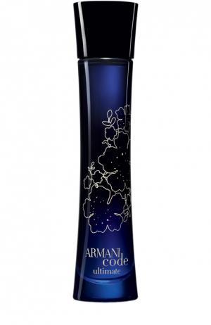 Туалетная вода Armani Code Ultimate Giorgio. Цвет: бесцветный